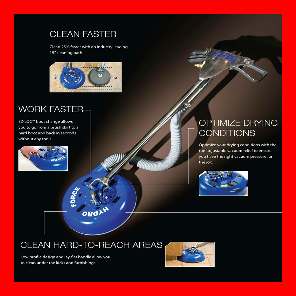 Sx 12 Tile Cleaning: Hydro-Force™ SX-15™ Hard Surface & Tile & Grout Carpet