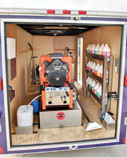 Truck Mount Package Deals Carpet Cleaning Equipment